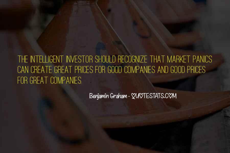 Intelligent Investor Quotes #142053