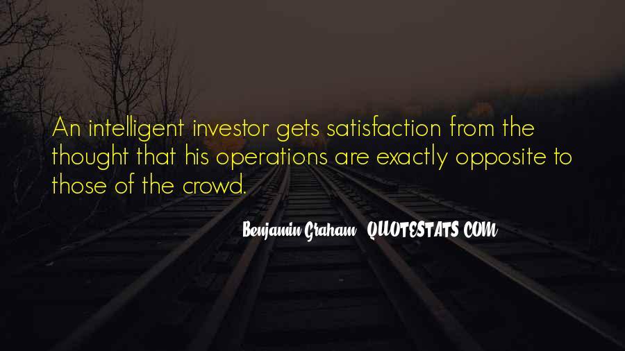 Intelligent Investor Quotes #361581