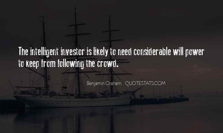 Intelligent Investor Quotes #430850