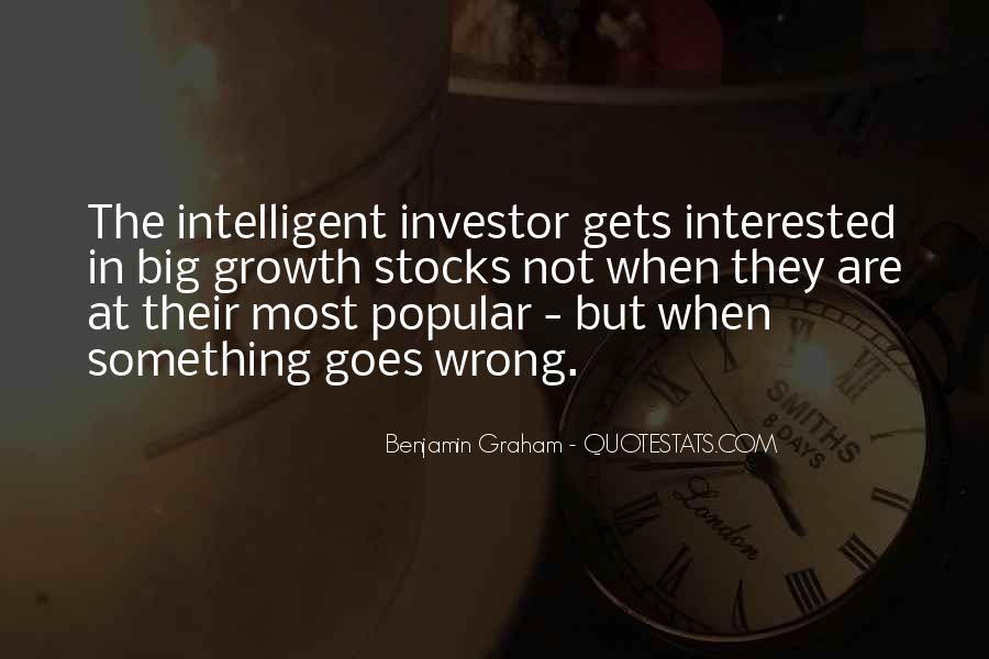 Intelligent Investor Quotes #529128