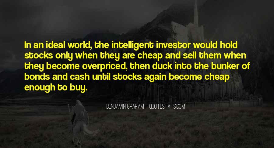 Intelligent Investor Quotes #852339