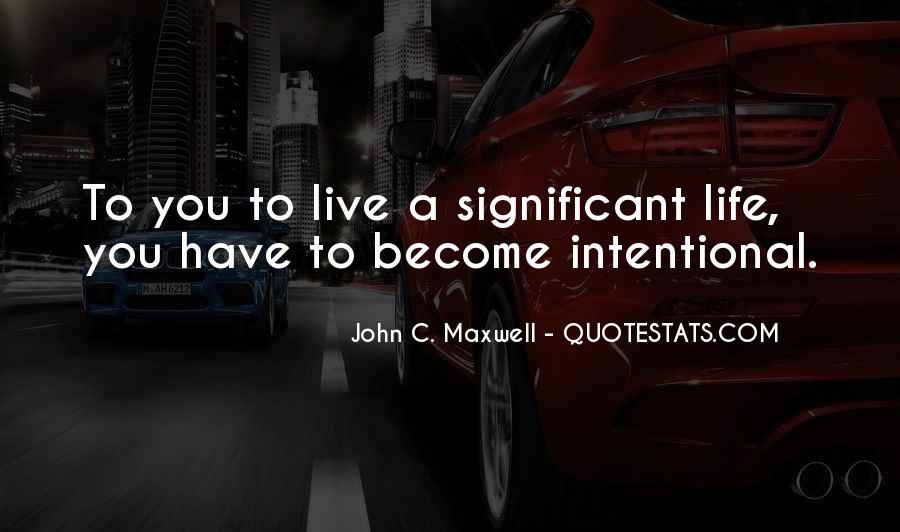 Intentional Quotes #226907