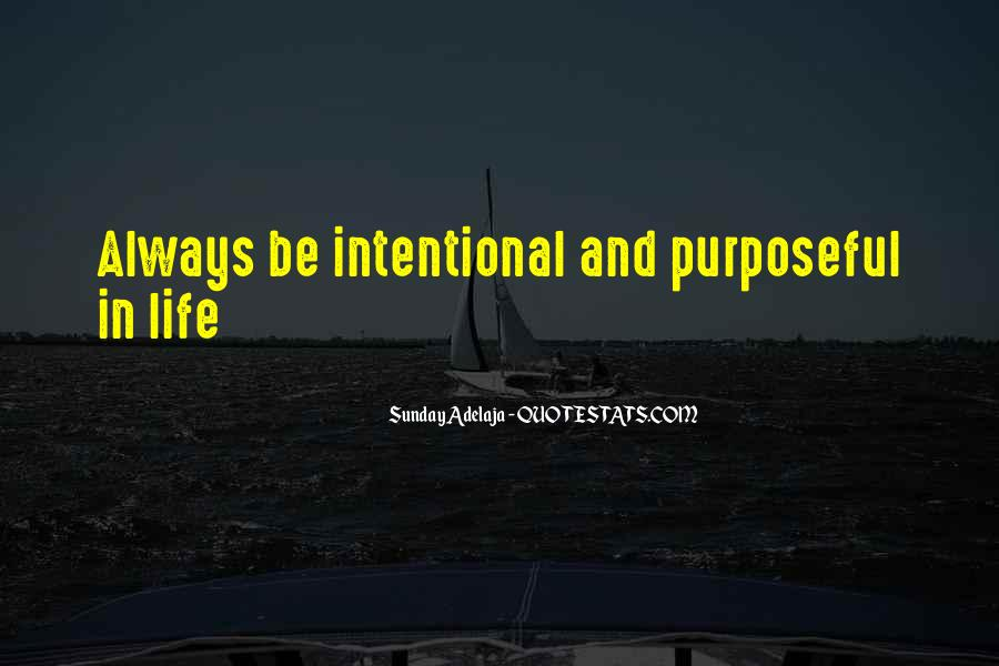 Intentional Quotes #34200