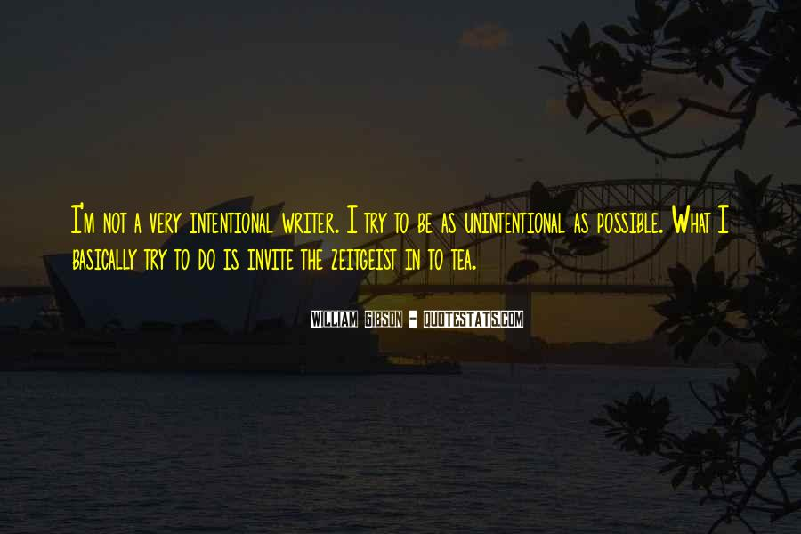 Intentional Quotes #504342