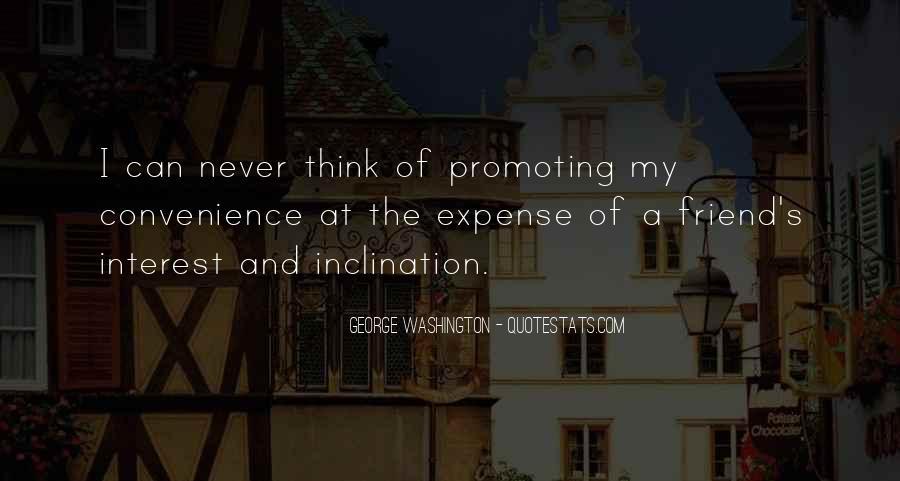 Interest Friendship Quotes #1592938