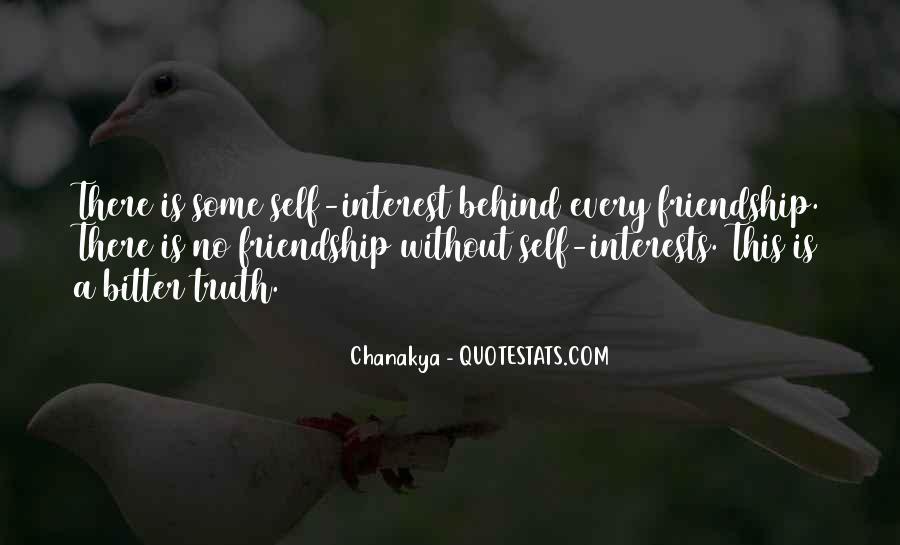 Interest Friendship Quotes #40446