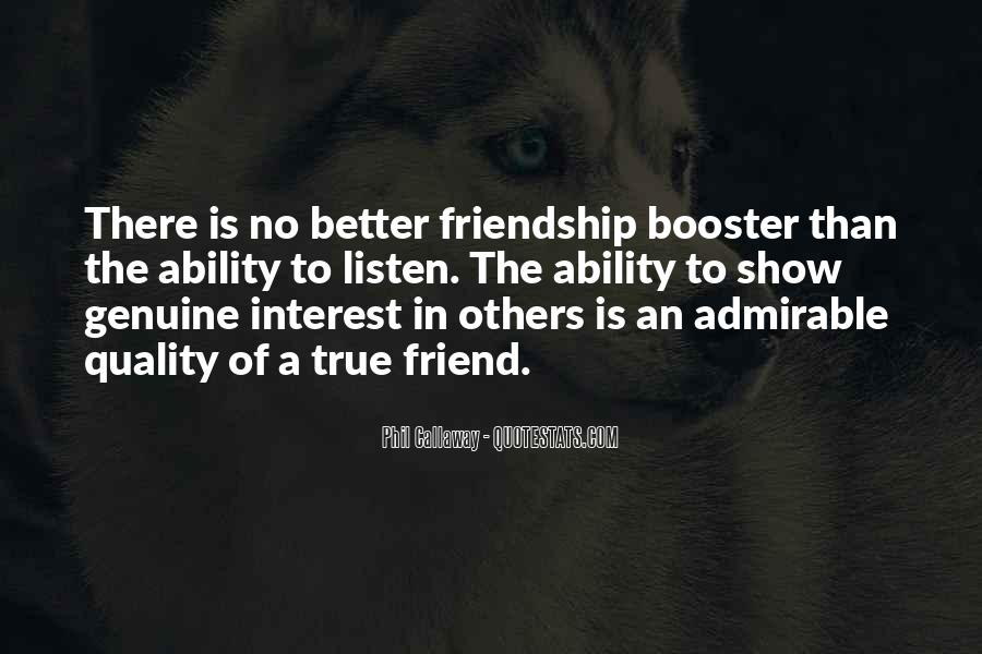 Interest Friendship Quotes #606272