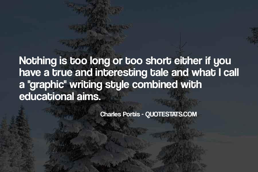 Interesting And Short Quotes #487610