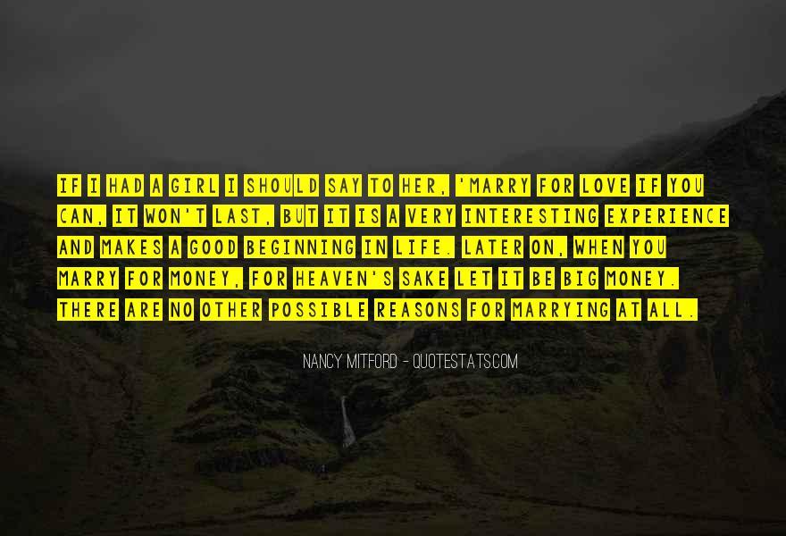 Interesting Love Life Quotes #1078664