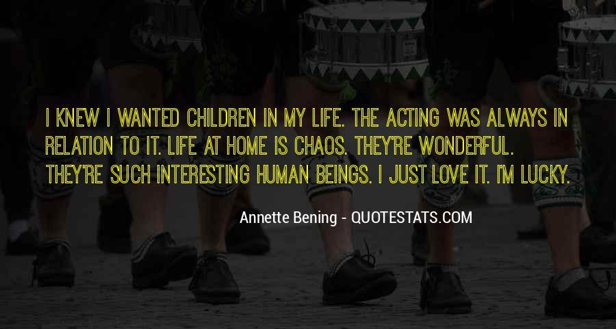 Interesting Love Life Quotes #1386270