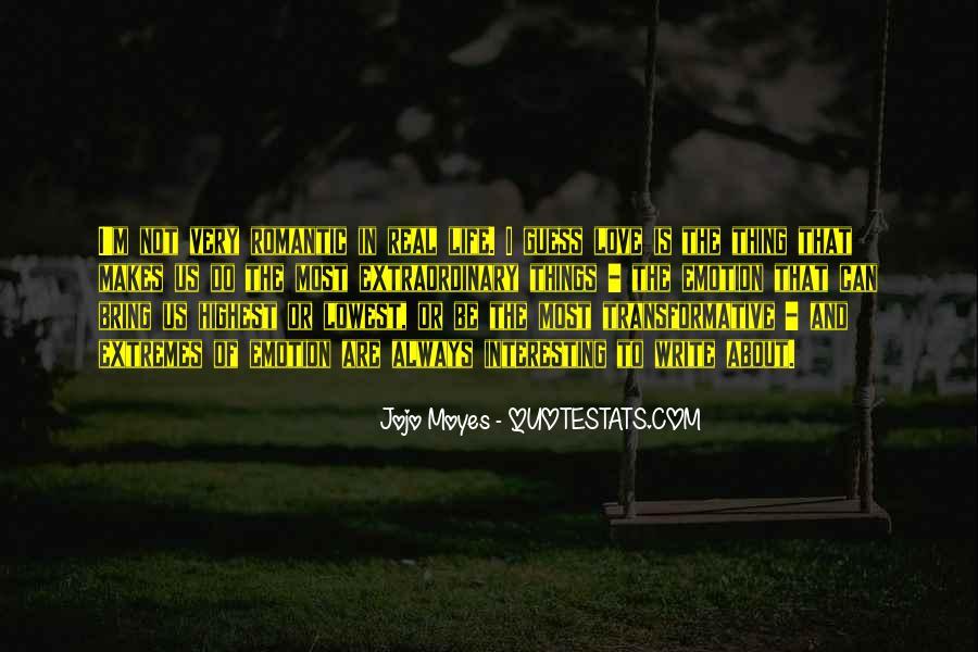 Interesting Love Life Quotes #1509046