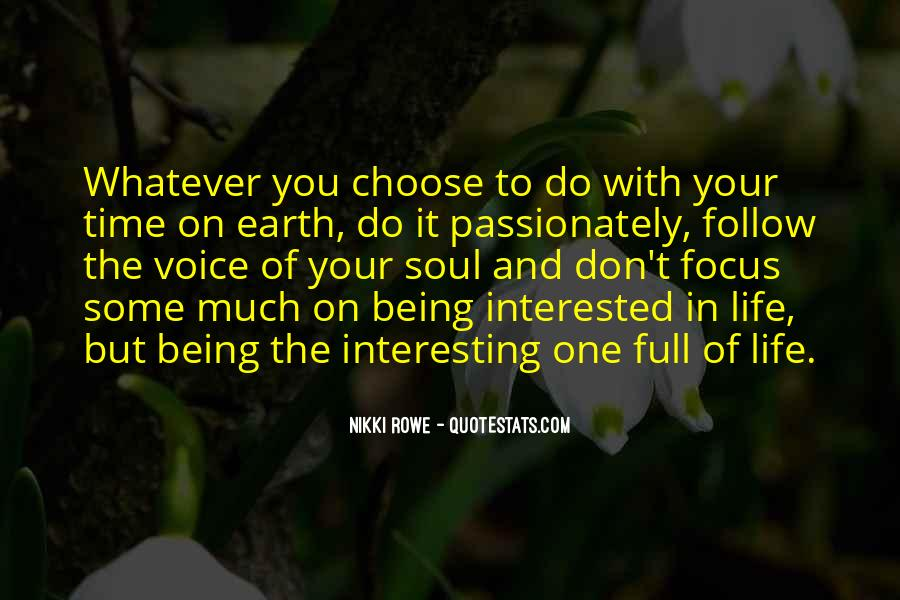 Interesting Love Life Quotes #1830850