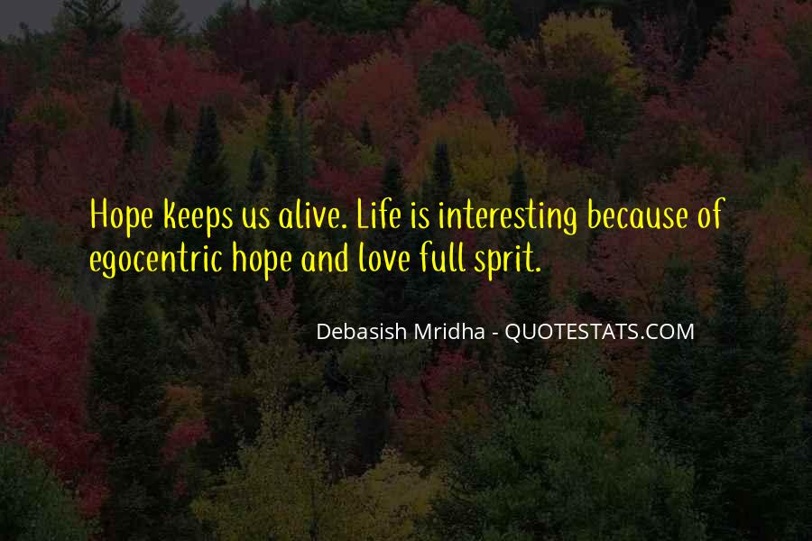 Interesting Love Life Quotes #1860274