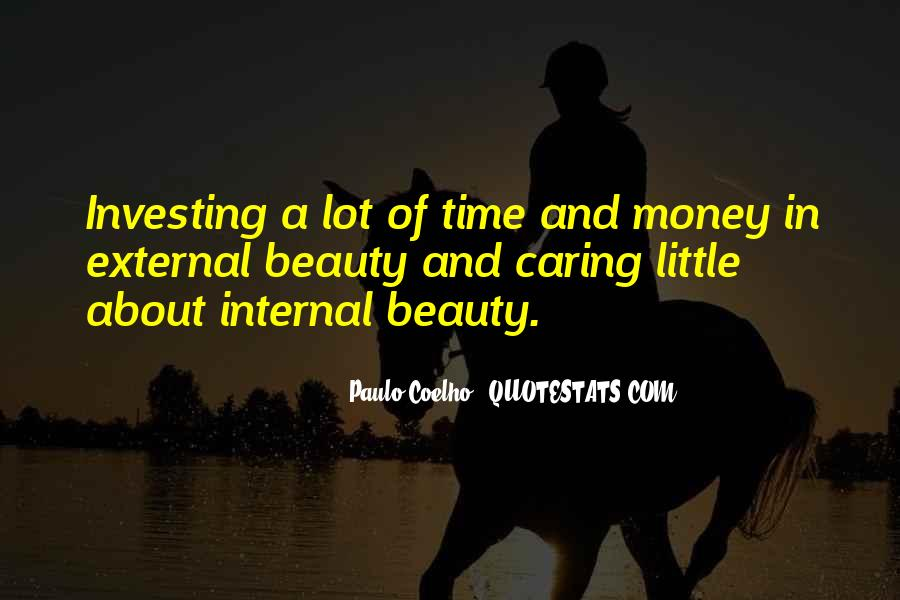 Internal And External Beauty Quotes #1306359