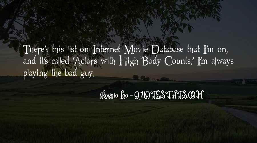 Internet Movie Database Quotes #1339980