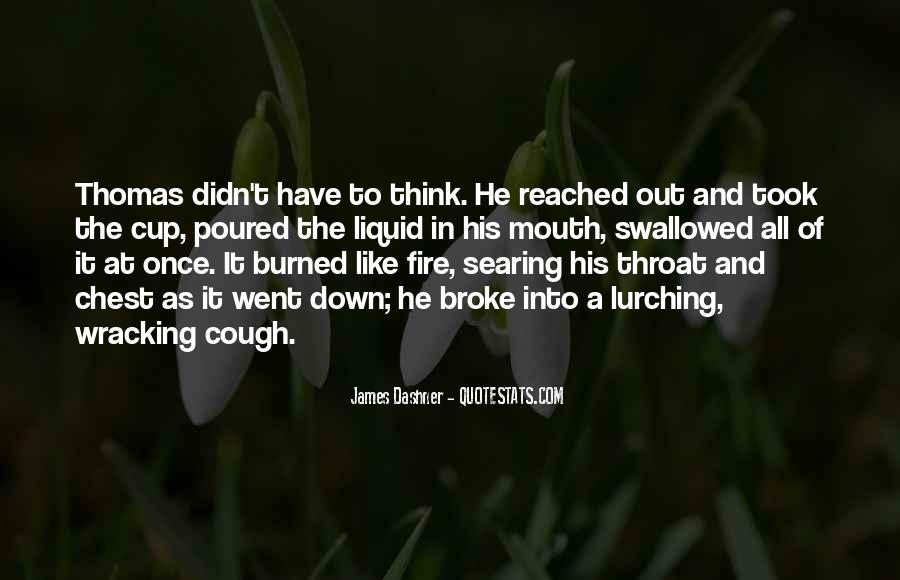 Into The Fire Quotes #111096