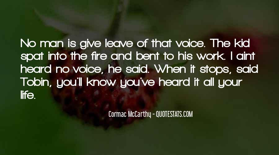 Into The Fire Quotes #288566
