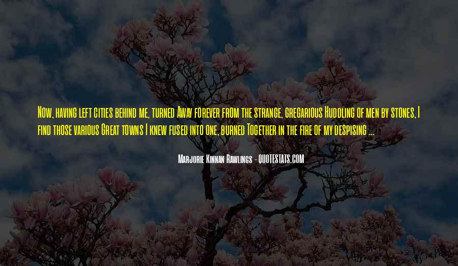 Into The Fire Quotes #396983