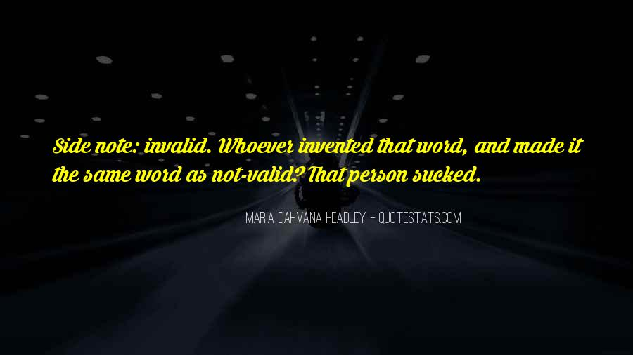 Invalid Quotes #1875564