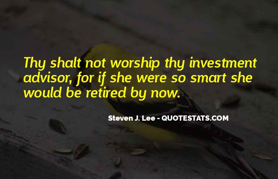 Investment Advisor Quotes #1320291