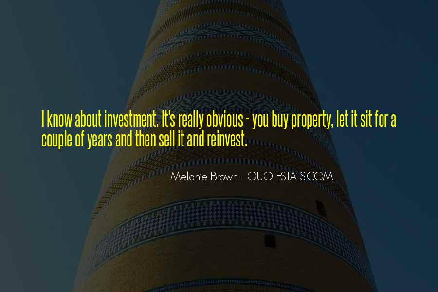 Investment Property Quotes #1852555