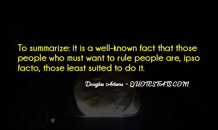 Ipso Facto Quotes #1165211