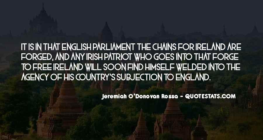 Irish Parliament Quotes #1575490