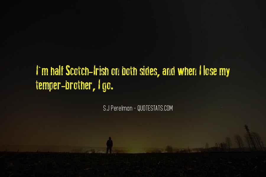 Irish Temper Quotes #1086693