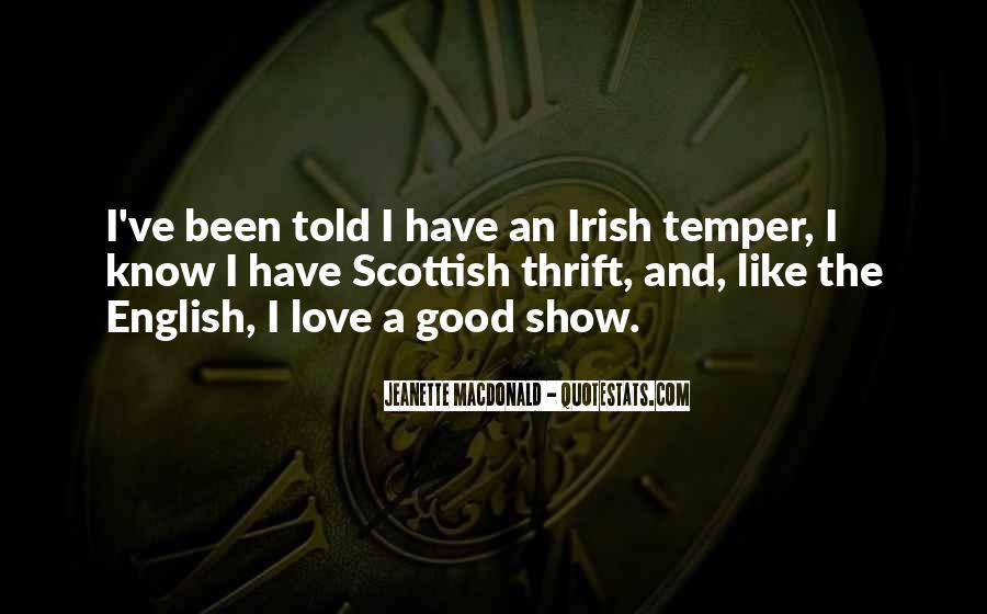 Irish Temper Quotes #395156