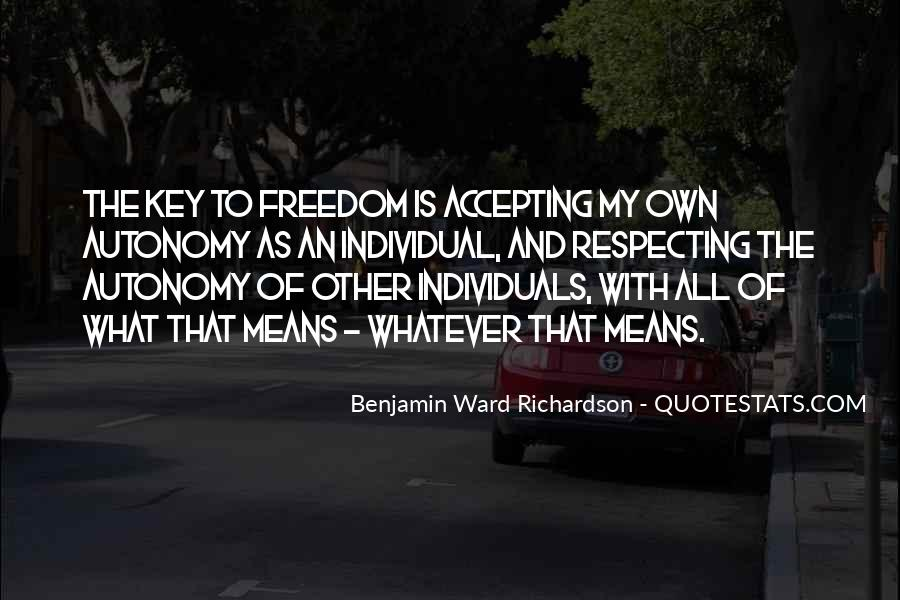 Is The Key Quotes #45421