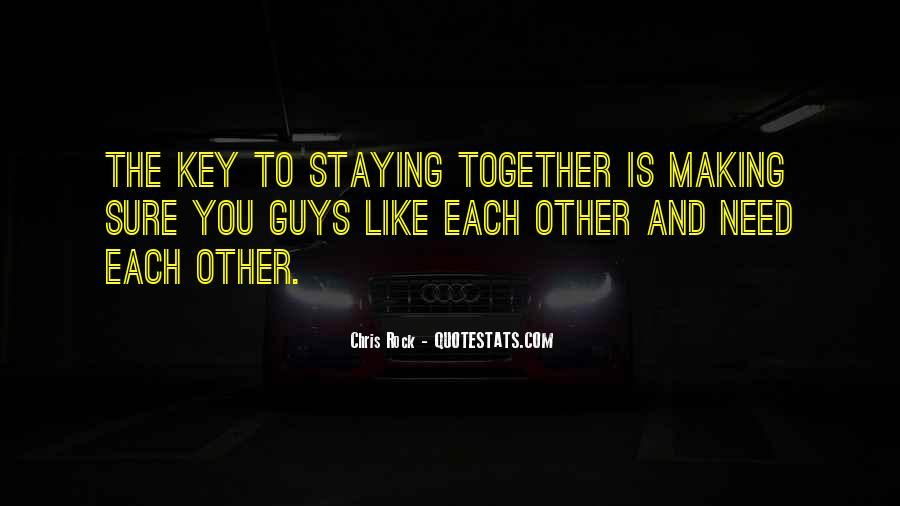 Is The Key Quotes #6206