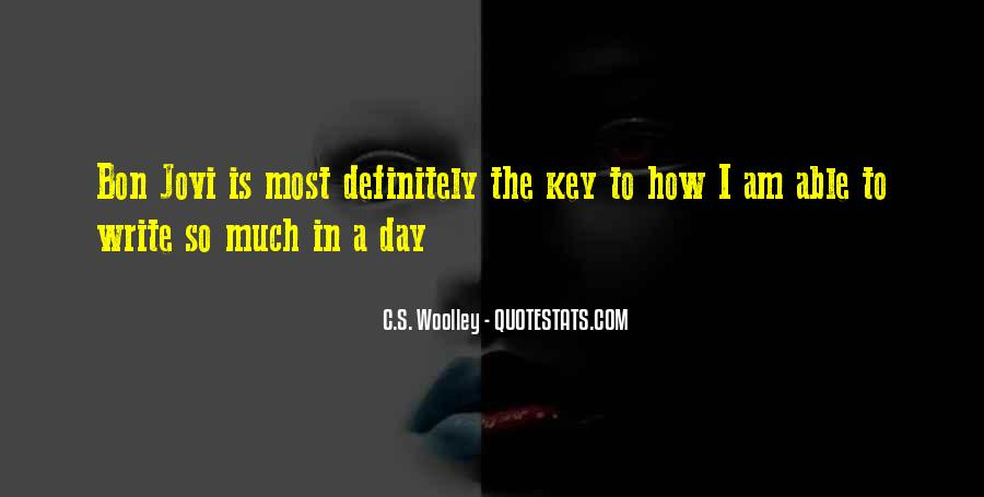 Is The Key Quotes #8364
