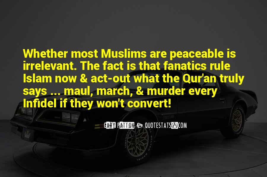 Islam Infidel Quotes #484711