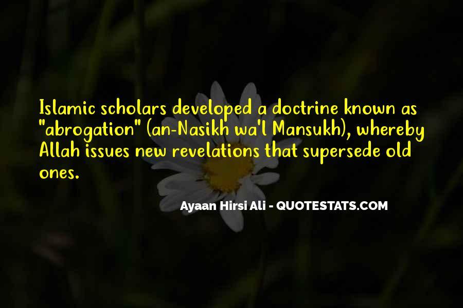 Islamic Scholars Quotes #1760572