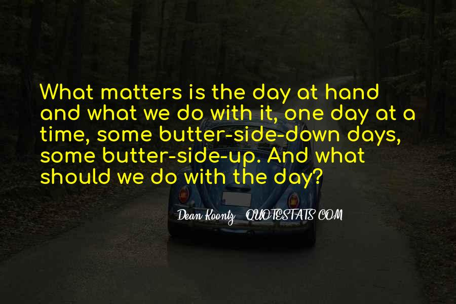 Quotes About Up And Down Days #1713847