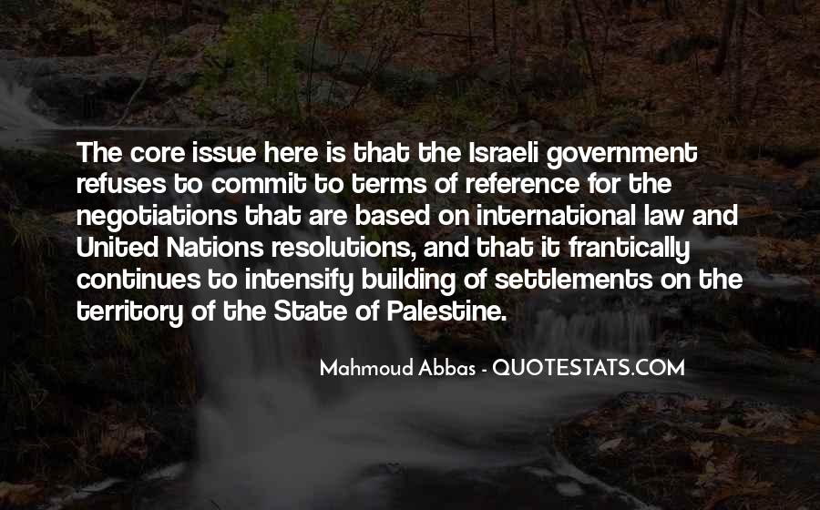 Israeli Government Quotes #1538751