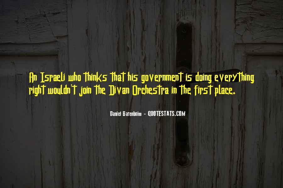 Israeli Government Quotes #1591052