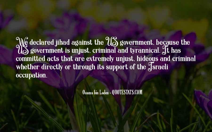 Israeli Government Quotes #1679523