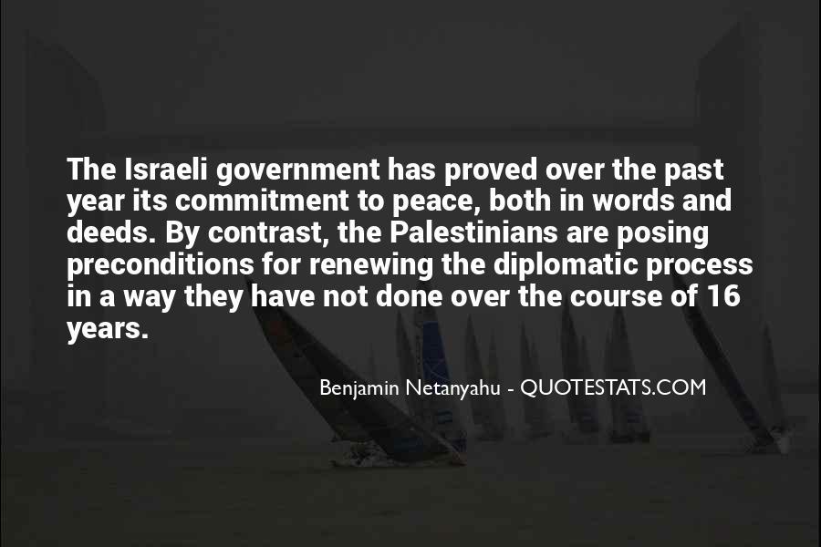 Israeli Government Quotes #315347