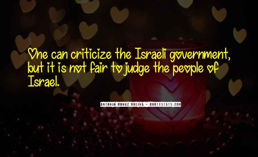 Israeli Government Quotes #470386