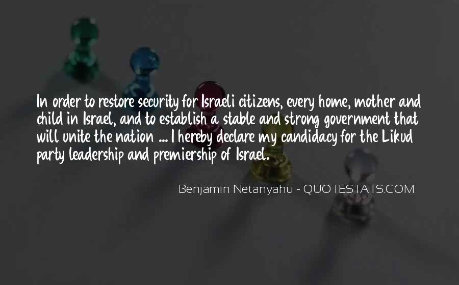 Israeli Government Quotes #83891
