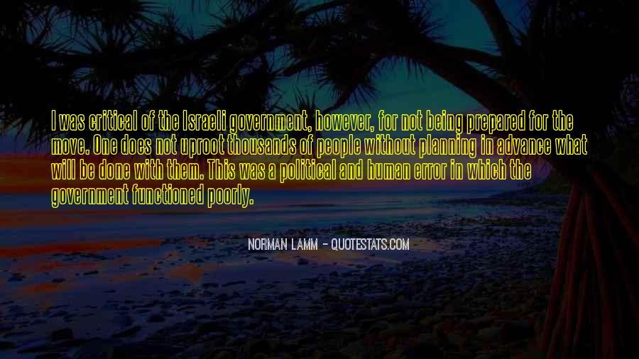 Israeli Government Quotes #921084