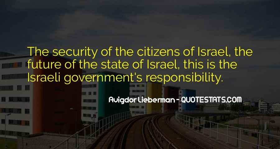 Israeli Government Quotes #990558