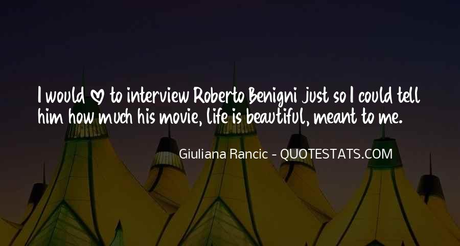 It A Beautiful Life Movie Quotes #1272967