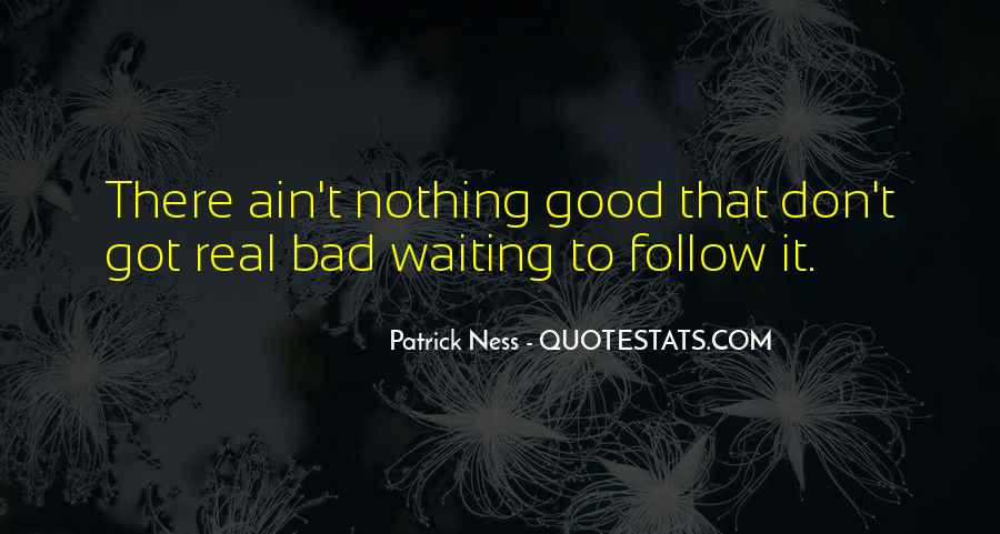 It Ain't Nothing Quotes #1014956