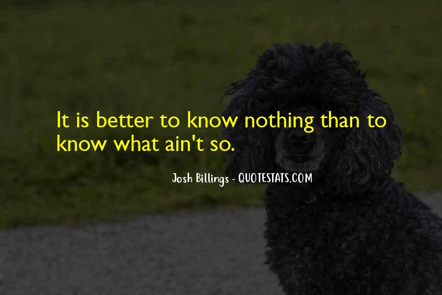 It Ain't Nothing Quotes #118686