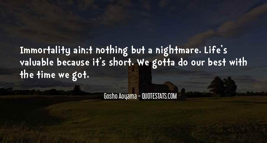 It Ain't Nothing Quotes #936009