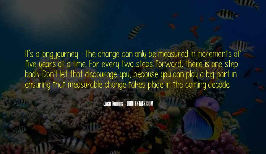 It Is Time For Change Quotes #1382674