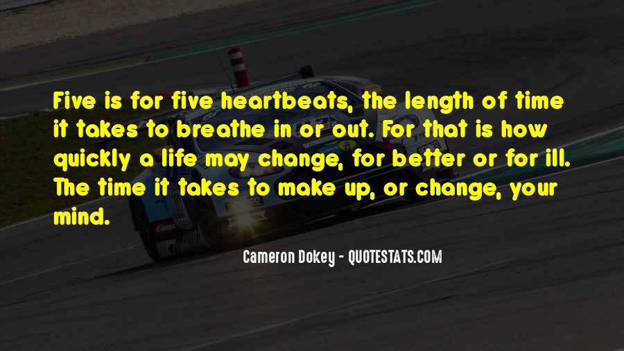 It Is Time For Change Quotes #361848