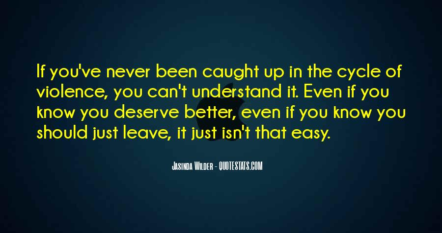 It Isn't Easy Quotes #304003